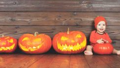 Halloween z maluchami